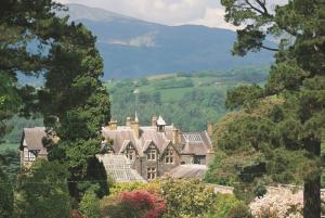 Bodnant Gardens view