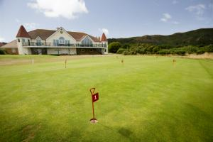 Conwy Golf Club photograph of the green