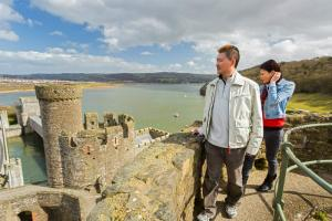 Conwy Castle Town Walls image 1