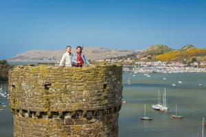 Conwy Castle Town Walls image 4