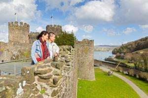 Conwy Castle Town Walls image 6