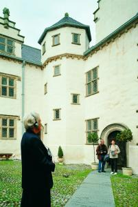 Plas Mawr Courtyard photograph